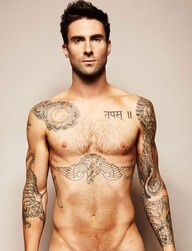 Adam Levine. I am speechless…