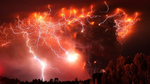 Lightning from Hell crackles over a Chilean volcano Image Credit: AP Photo/Francisco Negroni, AgenciaUno Via