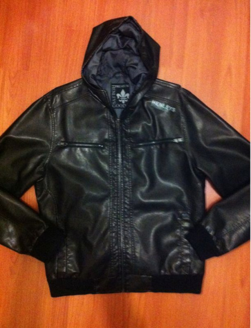 HENLEY LEATHER HOODED JACKET Size: M Condition: Excellent, as new RRP: $140 Selling for: $60 SOLD