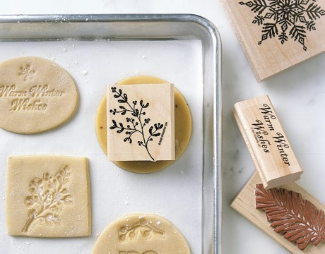 mycutecrush:  stamped cookies  such a cute idea