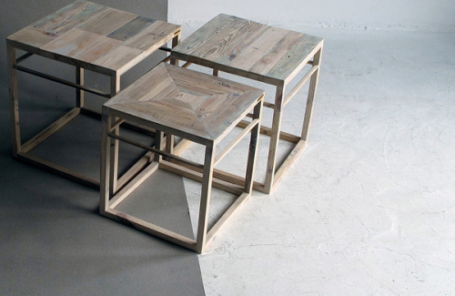 Sharp! archiphile:  furniture: recycled by ziben studiodisplayed on archiphile | facebook | twitter