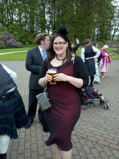 GPOYW: Scotland Wedding edition. I brought back 3 fascinators. I think I have a problem!