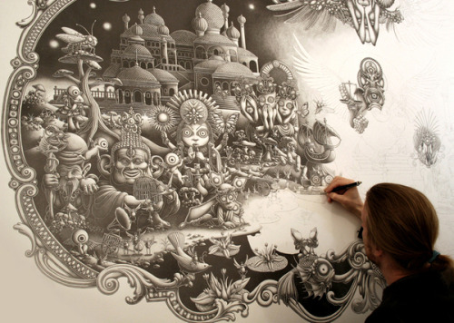 graafiez:  Amazing Drawings by Joe Fenton
