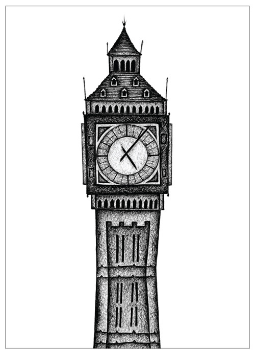 London Series #1 - Big Ben