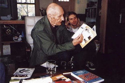 William S. Burroughs and Kurt Cobain
