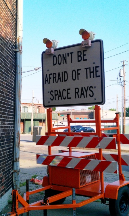 laughingsquid:  Don't Be Afraid of the Space Rays