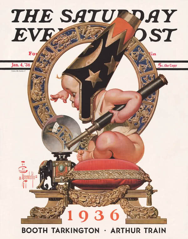 erikjohnsonillustrator:  JC Leyendecker 1936