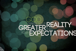 Greater Reality through God