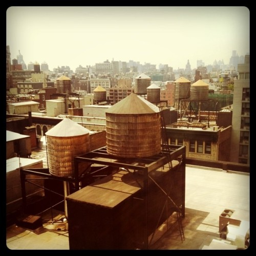 Rooftops (Taken with Instagram at Fashion 26)