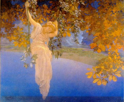 """Reveries"" by Maxfield Parrish - 1913"