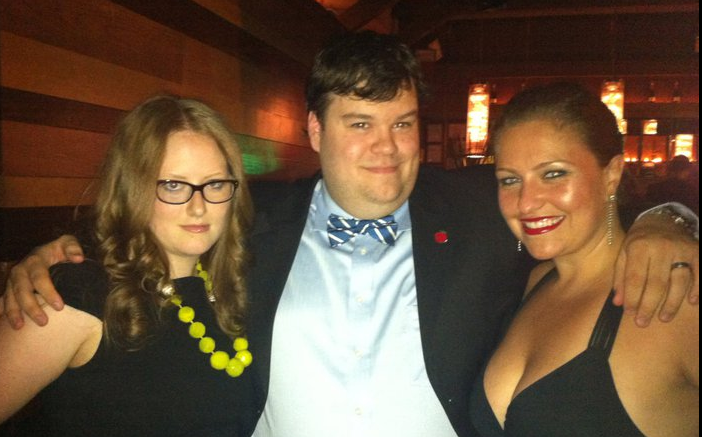 GPOYW - with Sarah Cooley and Christina Coster at Webutante Ball … and probably one of about 4 photos I was in last night.  Avoided all of the pro photogs for the second year in a row. (I think).