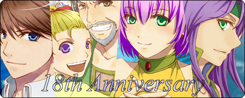 [Picture: Bartz, Galuf, Krile, Lenna, and Faris from FF5. They are all smiling and place in a line together.]