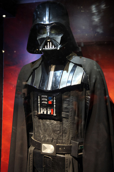 Darth Vader Original Darth Vader costume used in Episode IV: A New Hope.