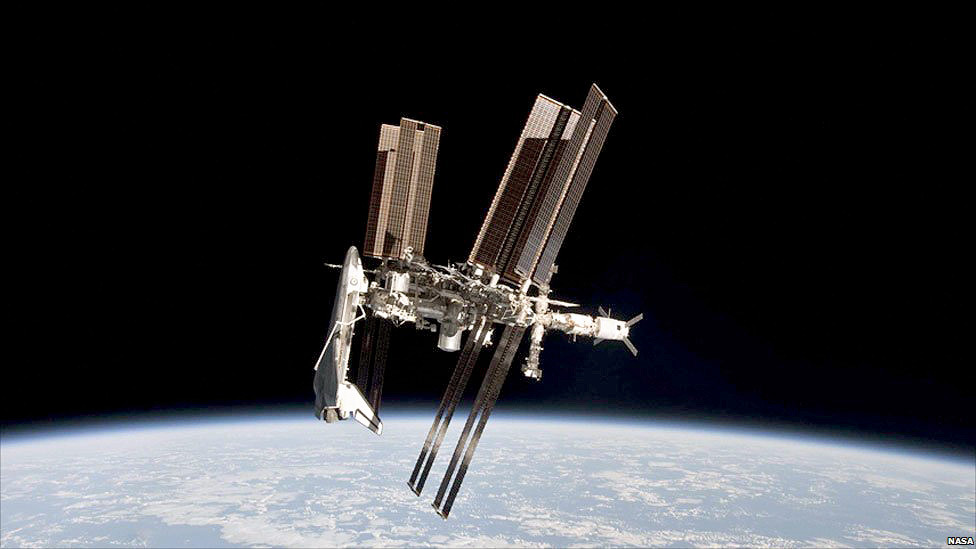 (via BBC News - Majestic shuttle in unique station image)