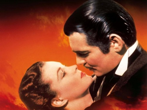 "We asked nine stars to tell us about their favorite movie kisses of all time, and Twilight's Jackson Rathbone gave the correct answer: This iconic smooch from Gone With the Wind. ""I'm a big Southerner and there is this power and strength behind those characters,"" he explained. ""And hoop skirts. It is all about the hoop skirts, girls. They are sexy. You could have just about anything under those skirts and they intrigue me like, 'What is going up under there, my lady?"""