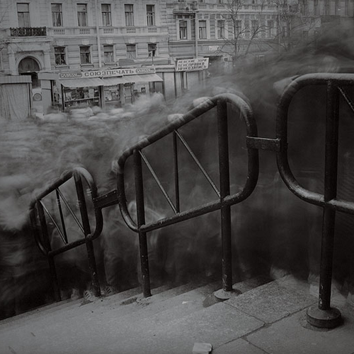 photojojo:  City of Shadows by Alexey Titarenko Alexey is a photographer from Russia. The series 'City of Shadows' was shot on the streets of St. Petersburg nearly 20 years ago. This post is by Karishma as part of Photojojo's Show & Tell week.