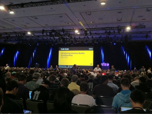 "WWDC 2011 - Going to "" Introducing Interface Builder Storyboarding"" session!"