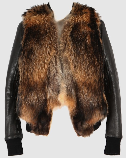 "epitomepgh: ""Yes, those are Raccoon furs and Leather Sleeves…  Balmain consistently finds ways to make PETA fall to their knees in horror…  but everyone else falls to their knees to bow."""