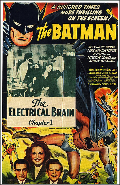 Batman serial - Episode 1 (1943)