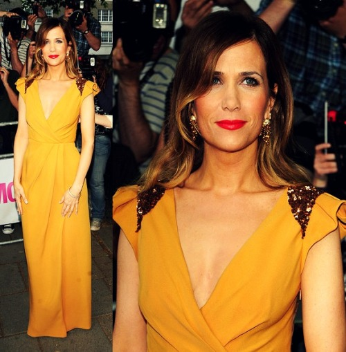 Kristen Wiig in J. Mendel resort 2011