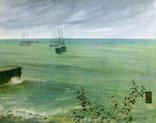 James  McNeill Whistler (1834–1903), Symphony in Grey and Green: The Ocean, 1866, oil on canvas