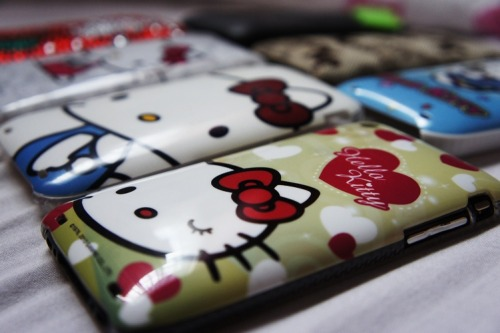 Hello Kitty iPhone Covers / mikee21icious