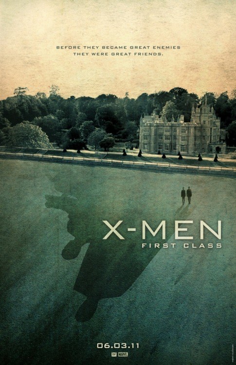 fuckyeahmovieposters:  X-Men: First Class by Berry Villegas