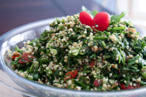 fuckyeahfewd:  (via Tabouleh (and Birthday Party!) | Food Obsessed)