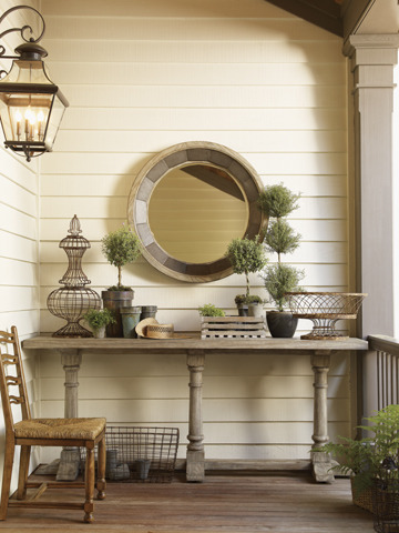 (via Lexington Veronica Console Table)