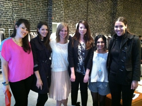 Tara (The Wonder Girl), Katie (Refinery29 SF), Elizabeth, Eli, Natalie, and Chade.