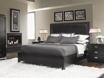 (via Lexington Graphite Panel Bed 6/6 King)