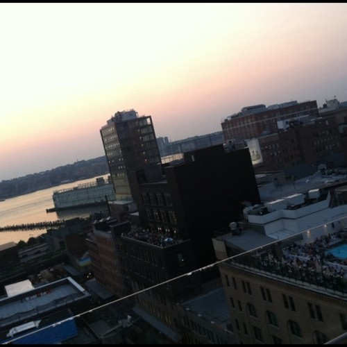 Rooftops part 2: meatpacking edish (Taken with Instagram at Hotel Gansevoort)