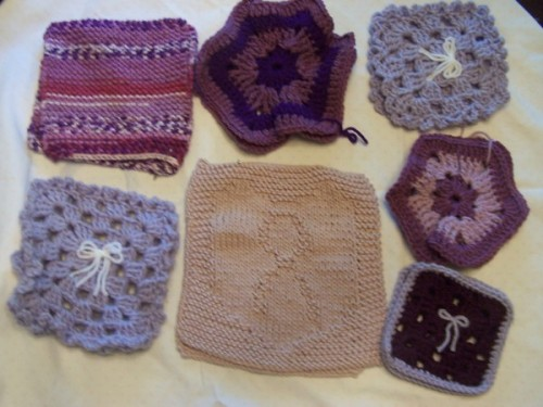 granny squares for a cause! awesome