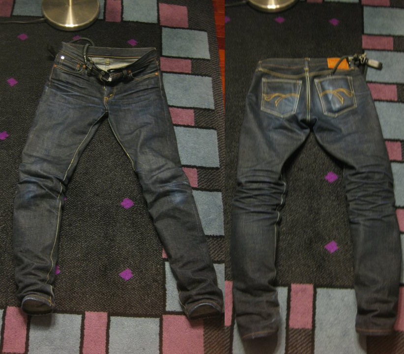 Flathead F310 picture at taken at 4 month, currently worn for 7 / initial hot soak, no washes credit: laughsome @ tumblr