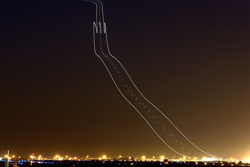 737 Light Trail (by Etep)