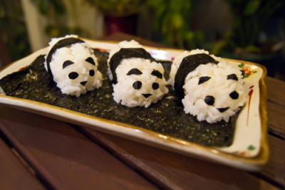 submitted by allthethingsweeat Panda Sushi!