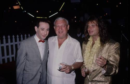 <br /> Pee-Wee Herman, Rodney Dangerfield and David Lee Roth