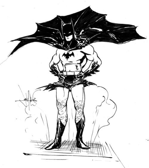 @GailSimone goes on the best Twitter tangents. For example: #BatmanInCulottes. Here's is @JoshAdams submission. Bow at its greatness. Josh Adams' website.
