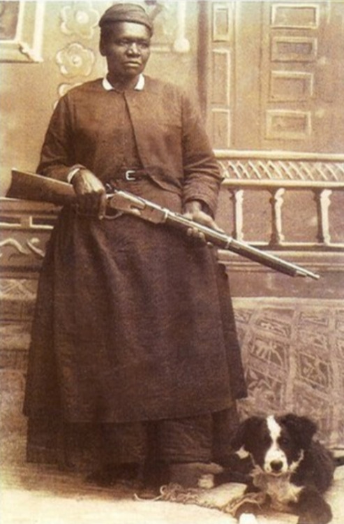 "sourcedumal:  ancestryinprogress:  auntada:  ""Stagecoach"" Mary Fields (c. 1832-1914) was born a slave in Tennessee and following the Civil War, she moved to the pioneer community of Cascade, Montana. In 1895, when she was around 60 years old, Fields became the second woman and first African American carrier for the US Postal Service. Despite her age, she never missed a day of work in the ten years she carried the mail and earned the nickname ""Stagecoach"" for her reliability. Fields loved the job, despite the many dangers and difficulties such as wolves and thieves (she was an excellent marksman, defending her route with a revolver and a rifle). The people of Cascade so loved and respected Fields, that each year on her birthday they closed the schools to celebrate the occasion. They even built her a new house when she lost her home in a fire in 1912.  #boss  This woman is frickin AWESOME. Why don't we learn about her in history class?!?!?!"