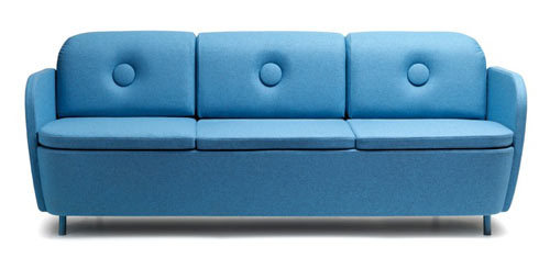 BOOP sofa by Note Design Studio. something that just come out from Foster's Mansion for imaginary friends, right?  LOVED.