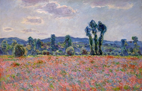 Claude Monet Poppy Field 1890