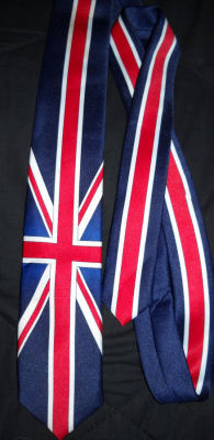 UK tie description: What more can I say?   brand: Not sure materials: Probably not silk… condition: used gently4$