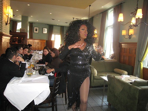 perry's drag sunday brunch.