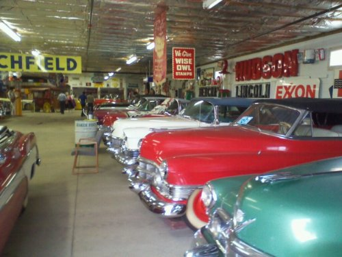Garage full of classics
