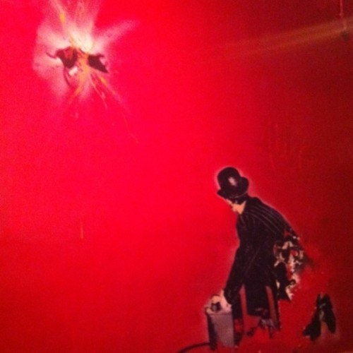 #banksy assumption (Taken with Instagram at STK)