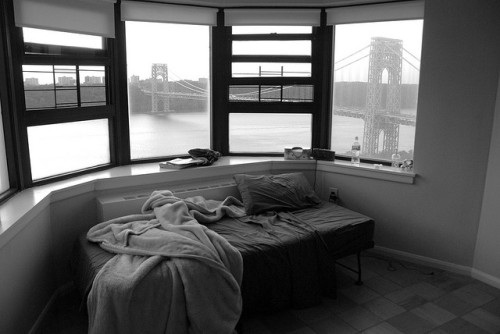 Washington Bridge from Bedroom, New York City by Damon Tighe on Flickr.so awesome