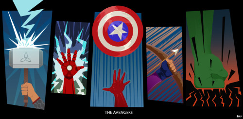 Hands up for the Avengers. 328