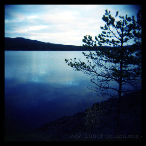 Blue lake // Sweden Lundr Design (Bekah Lunn)