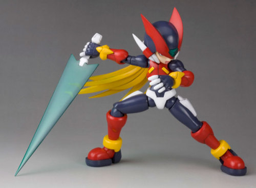1/10 Rockman ZeroRelease date: October 2011Price: 3,360 yen (approx. $42)  For more pics, reblog this post and click on the pic.