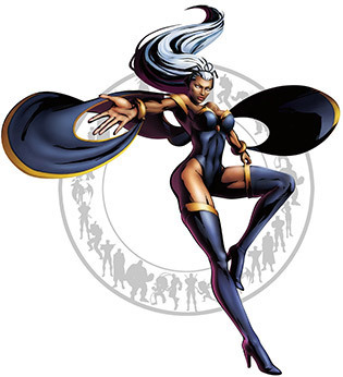 Storm Ororo Munroe was gifted with the mutant ability to control weather. She joined the X-Men and has been one of their most reliable members. Who haven't dreamt of wanting a superpower like hers? Yes, even me. I mean, come on, the ability to control the weather? That's god-like. Coolest of them all is how her eyes turn all white. JK. I like this costume better than the white one or even the black one worn by Halle Berry. This one show just the right amount of skin to make it sexy.